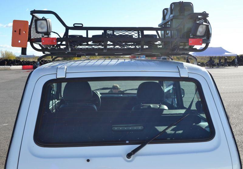 Багажник на крышу своими руками на 2121